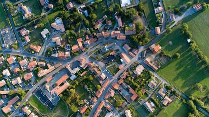 Photographie aérienne de Cheix en Retz