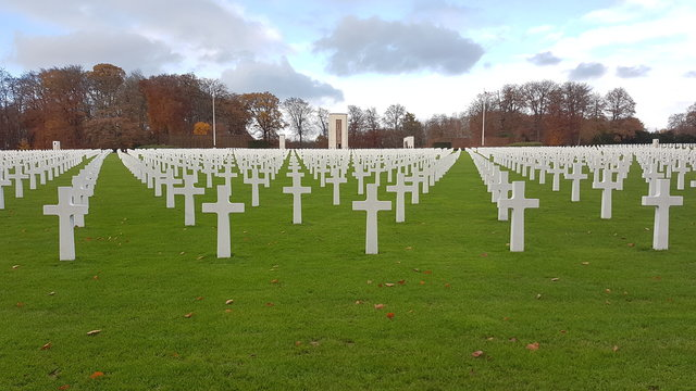 Cementerio militar Americano Luxemburgo