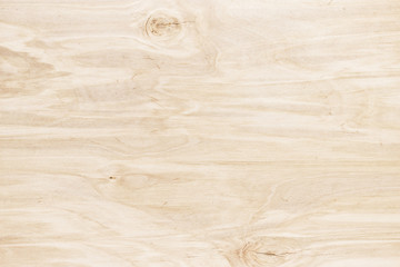 Light wood background. Wooden table or board, close-up texture Wall mural