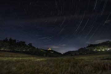 Bologna, San Luca, Star Trail,