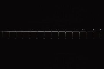 Shapes of piano keys