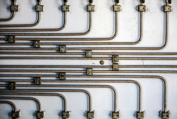Metal Pipes for cooling and moving liquids