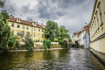Kampa Island with Certovka River