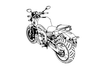 motorbike photos royalty free images graphics vectors videos Extreme Custom Sport Bikes sketch of a sport motorcycle vector