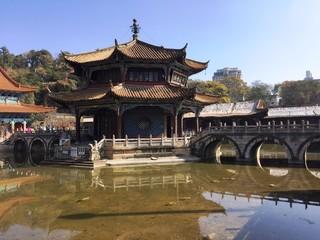 View of Yuantong Temple (Kunming, Yunnan, China)