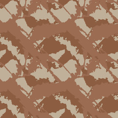 Abstract brown and beige background as UFO camouflage