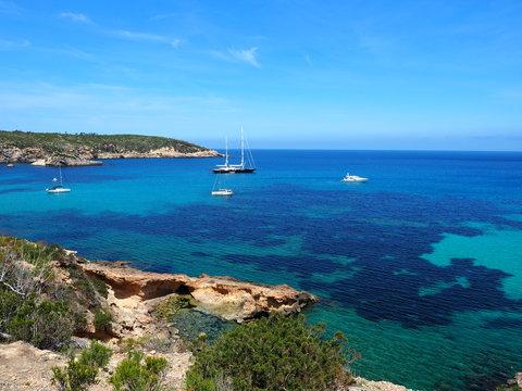 Ibiza - Küste im Norden