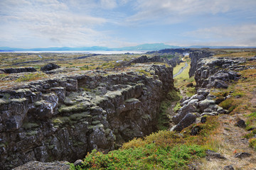 Thingvellir (Pingvellir) National Park in Iceland