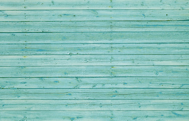 Green wooden wall with horizontal planks