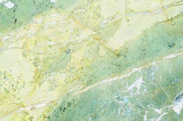 Light green marble texture with light veins. Perfect natural pattern for background
