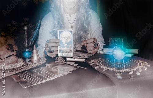 Old fortune teller