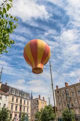 Reconstitution historique du Premier envol d'une montgolfière à Annonay