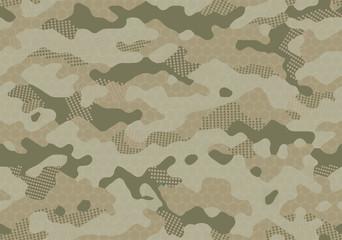 seamless futuristic camouflage pattern