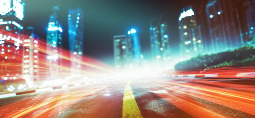 Nacht - Stadt - Lichtzieher
