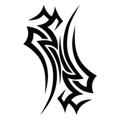 tattoos ideas designs – tribal tattoo pattern vector illustration