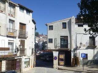 Chinchon, pueblo bonito de Madrid en España