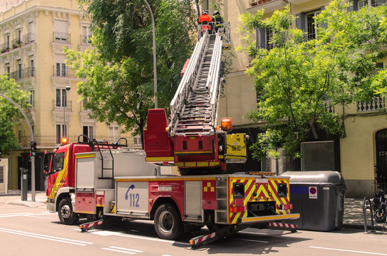 firefighters emergency service