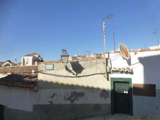 Madrid. Chinchon, pueblo con encanto de España