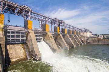 Hydro Power Plant in Dubossary, Moldova
