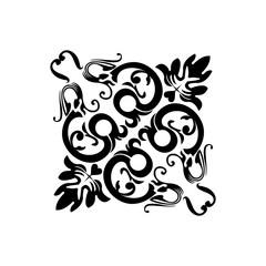 black tribal tatto