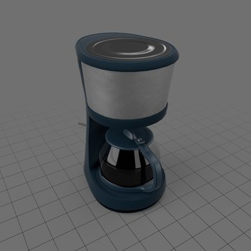 Plastic coffee maker