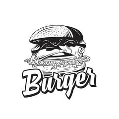 Burger logo emblem badges