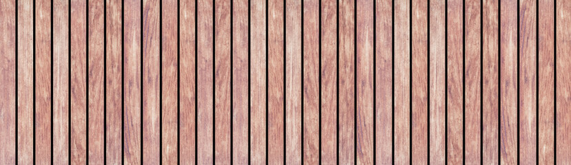 Panorama of Wood plank as texture and background seamless