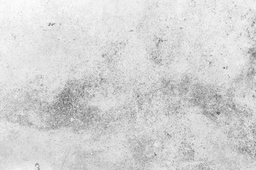 Grunge white and grey old cement wall texture background.