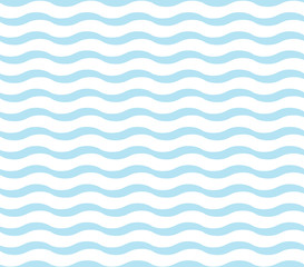 cute blue wave pattern
