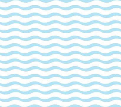 cute blue wave pattern