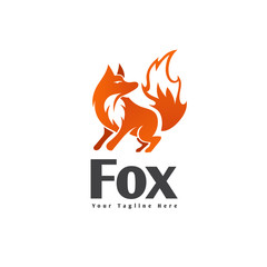 stand Fire spirit fox logo