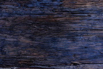 Close-up of Dark wood texture background with old natural pattern,Firewood surface.