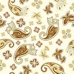 Beautiful Pattern with paisley design
