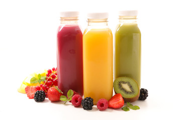 Wall Murals Juice assorted fruit juice
