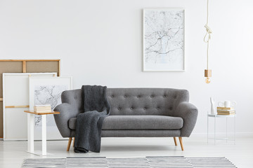 Scandi living room interior
