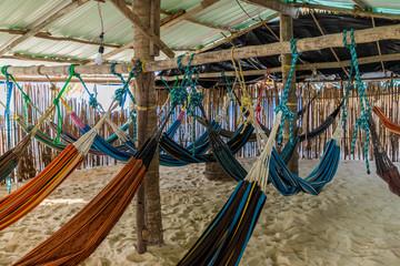 basic hammock accommodation