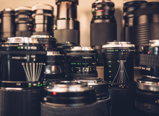 Camera Lens in Shop Vintage collection object