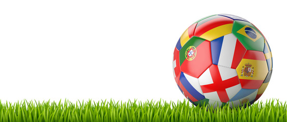 Ballon de football vectoriel 16