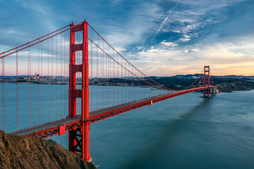 Photo sur Toile San Francisco Golden gate bridge