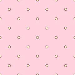 vector seamless pattern Little Princess concept