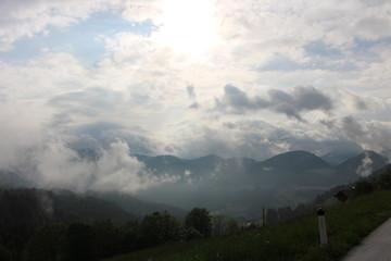 Himmel Berge