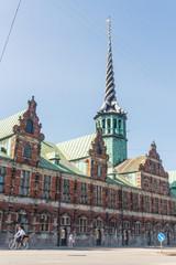 Building of Copenhagen Stock Exchange, Denmark