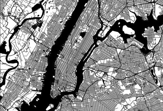 Map of Manhattan