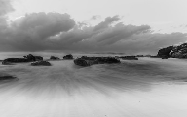 Soft, Slow and Rocky Seascape