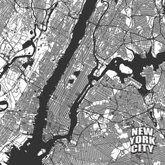 New York City vector map