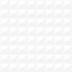 Seamless white geometric texture - beautiful decorative vector background