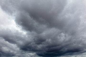 Clouds before the rain as a background