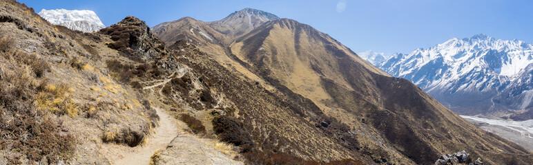 Mountain landscape in Nepal