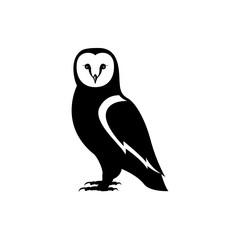 Printed roller blinds Owls cartoon owl