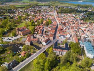 Blick über Neustadt-Glewe
